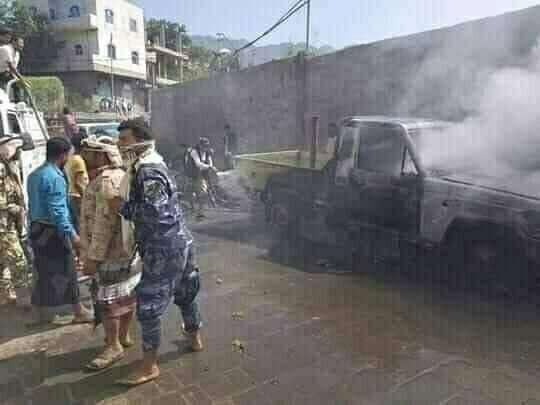 إشتباكات عنيفة في عدن على خلفية الصراع على الأراضي بين قيادات نافذة في الإنتقالي