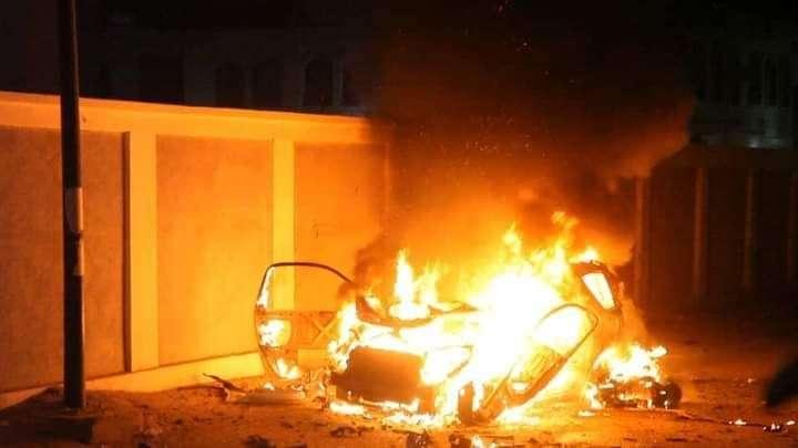 انفجار عنيف يهز محيط مستشفى سيئون العام بحضرموت