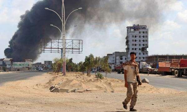 عدن:  إنفجار عنيف بمدينة إنماء أثناء مرور موكب قائد اللواء التاسع صاعقة