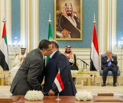 مصدر حكومي ينفي الإعلان عن تشكيل الحكومة قبل تنفيذ الشق العسكري من اتفاق الرياض